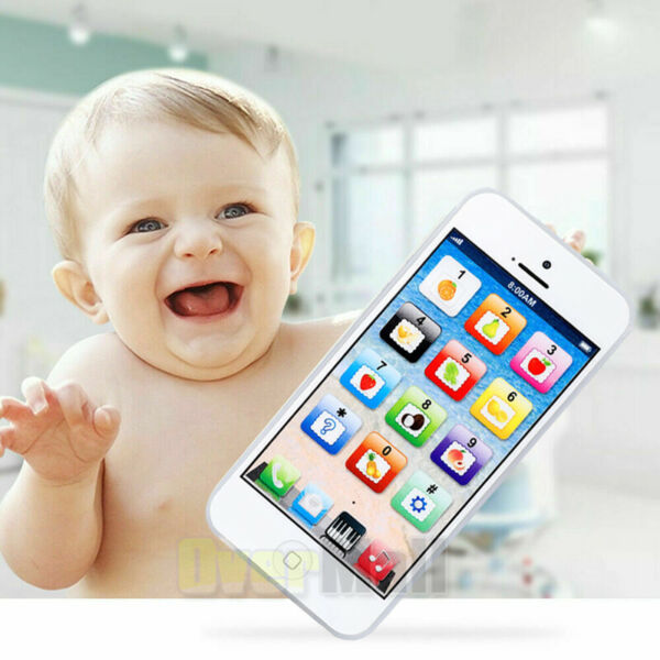 Phone Toy Play Music Learning Educational Cell Phone For Baby Kids And Children $11.73