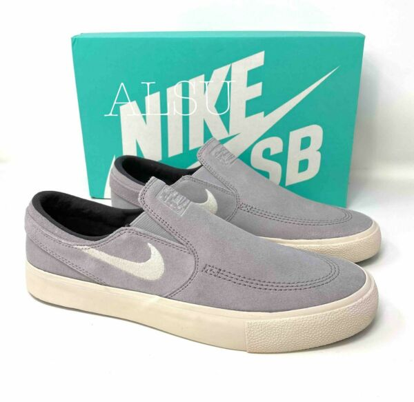 Sneakers Men Nike SB Zoom Janoski Slip Suede RM Atmosphere Grey Size AT8899 003