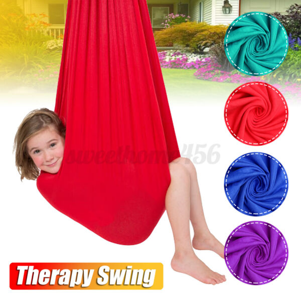 Soft Hanging Cuddle Swing Hammock For Kid Therapy Autism ADHD Up To 80kg Sensory $24.85