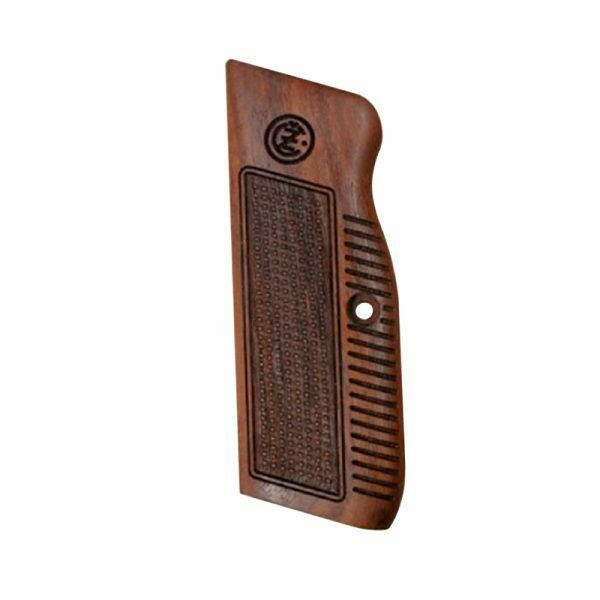 CZ 75 REPLACEMENT WOOD GRIPS CHECKERED