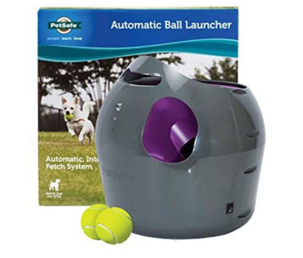 PetSafe Automatic Ball Launcher Interactive Dog Toy 2 Tennis Balls PTY00-14665 $147.95
