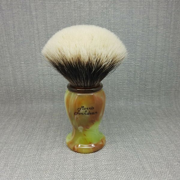 Morris & Forndran M&F Finest Badger Alibaba imitation jade 28mm shaving Brush