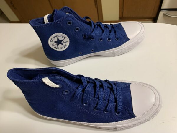 Converse Chuck Taylor All Star High Top Sneaker U.S Unisex Blue NWOB 7.5 W 5.5 M