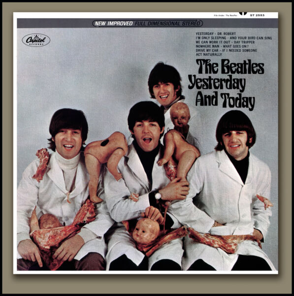 THE BEATLES BUTCHER COVER STEREO YESTERDAY amp; TODAY w RECALL LETTER