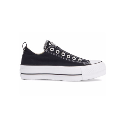 Converse Women's Chuck Taylor All Star Platform Slip-On -Black Canvas Size 10