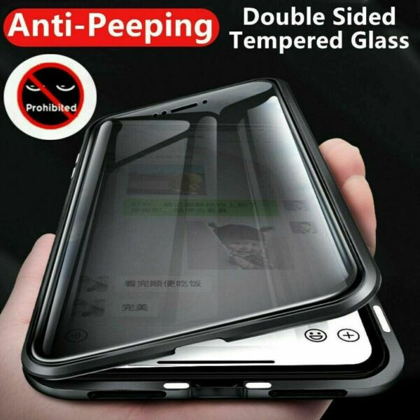 360° Full Magnetic Glass Anti-Spy Case For Samsung S20 Plus S10 S8 S9 Note 10 98 $16.88