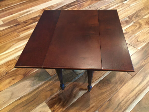 Wooden Drop-Leaf Table for American Girl 18'' Dolls by Dept. 56 Retired Item