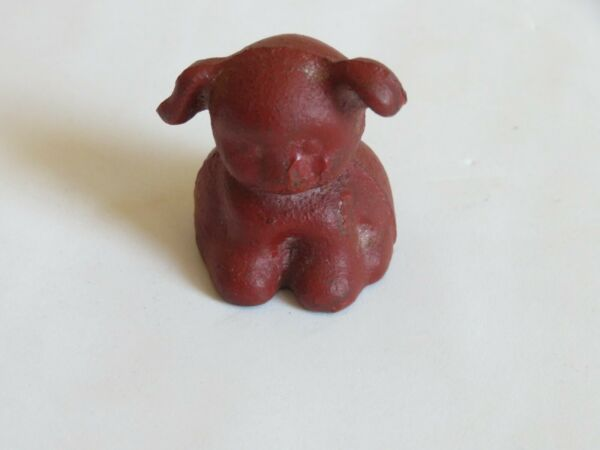 Vintage Metal Dog Paperweight Y455 $19.99