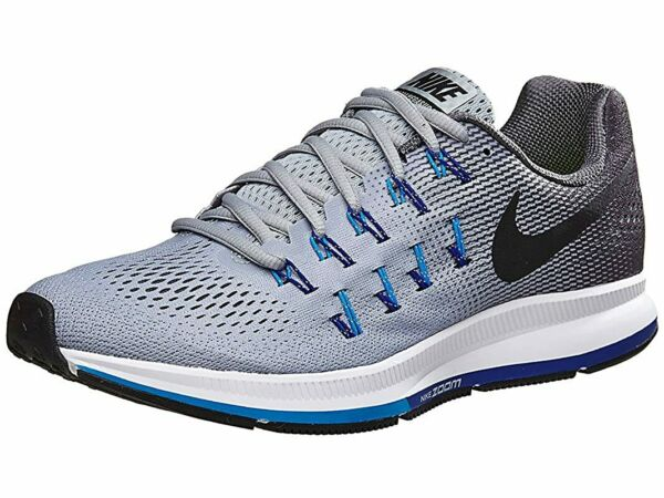 Nike Zoom Pegasus 33 Men's Running Sneakers Wolf Grey Size 7 XE Extra Wide