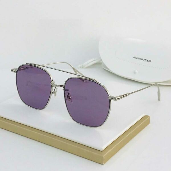 Classic Gentle Monster GM WOOGIE 02 Unisex Fashion Square Frame Sunglasses $112.00
