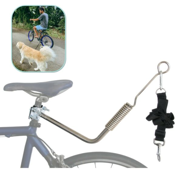 Lumintrail Dog Bike Leash Attachment for Hands Free Dog Walking and Exercise $33.56