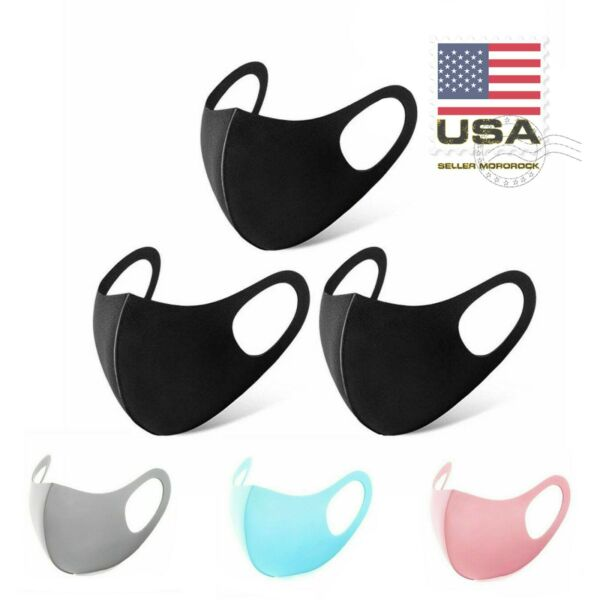 3 Pc Adult Kids Reusable Mask Cloth Washable Breathable Face Cover  $5.99