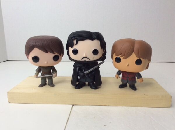 Funko Pop Game of Thrones Lot Arya Stark Tyrion John Snow Vinyl Figures Loose