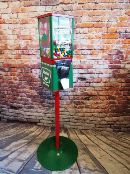 vintage gumball machine stand Sinclair gas home decor man cave gift game room $299.00
