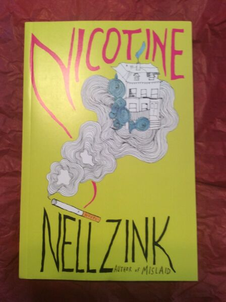 Nicotine By Neil Sink Paperback Uncorrected Proof