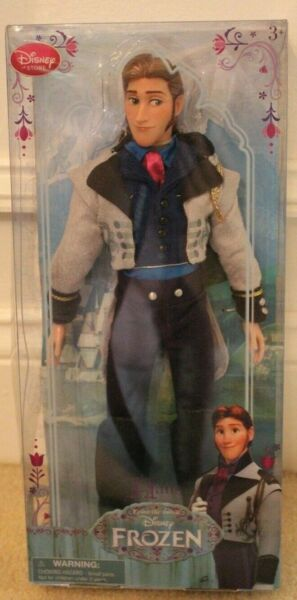 """1st ISSUE 2013 RETIRED 12"""" HANS DOLL Disney Store Exclusive – Frozen BRAND NEW!"""
