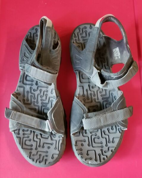 2004 Nike ACG Men's Size 13 Sport All Trac Hiking Water Strap Sandals Black $24.99