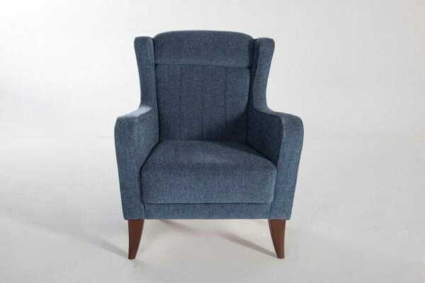 Istikbal Karlena Pansy Basic Blue Chair $599.00