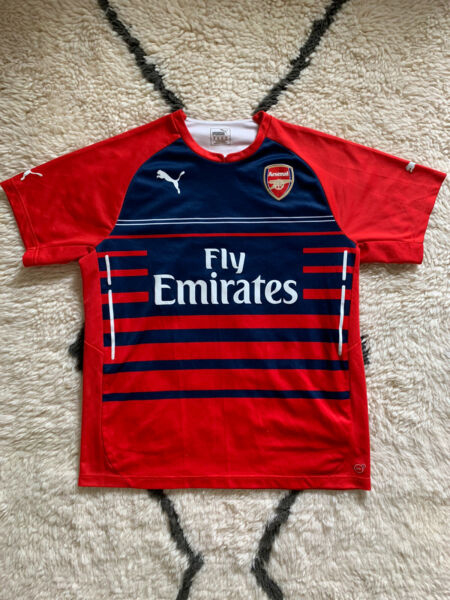 Puma 20142015 Arsenal Red Home Pre-Match Jersey (Men Size XLarge)