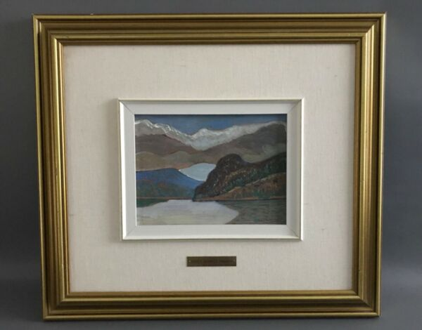Original Oil Painting  Sidney Charles Mooney  Clayoquot Canadian Listed Artist
