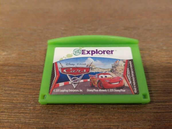 Cars 2 Leap Frog Leapster Explorer Cartridge Learning Game - TESTED and WORKING $4.74