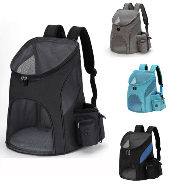 Pet Portable Carrier Backpack Travel Dog Cat Bag Comfort Mesh Carry Puppy $23.56