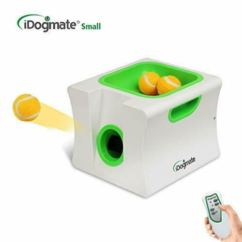IDOGMATE Small Dog Ball LauncherAutomatic Dog Ball Thrower for Mini Dog (Small  $88.98
