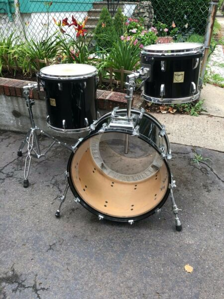 Vintage PureCussion  Worldmax - 6 Ply Maple Shell Drums - 121622