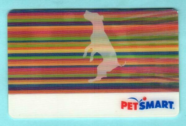 PETSMART Dog Playing with a Ball 2009 Lenticular Gift Card $0 $2.50