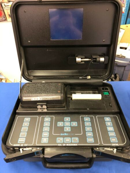 Audio Scan RM500 Hearing Aid Analyzer Case AS IS UNTESTED See details