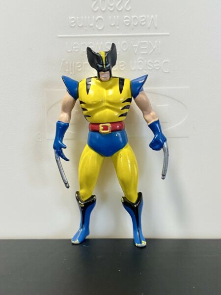 Wolverine 1994 Die Cast X men Action Figure Marvel Entertainment Toy Biz