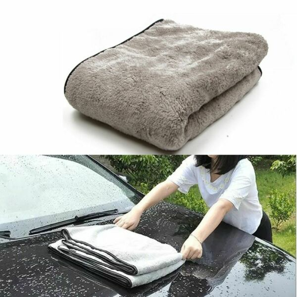 Car Wash Towel Microfiber Car Cleaning Drying Cloth Auto Washing Towels Car Care $13.49