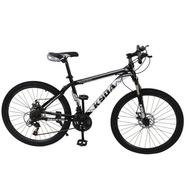 Junior Aluminum Full Mountain Bike Mountain 26 Inch 21 Speed outdoor ​​Bicycle $176.03