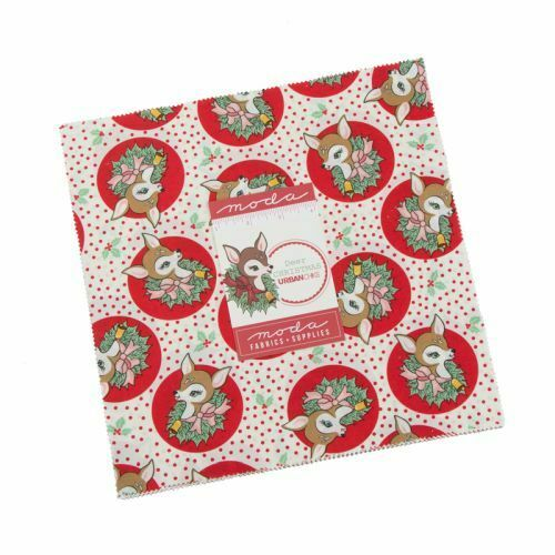 Deer Christmas By Urban Chiks For Moda Layer Cake