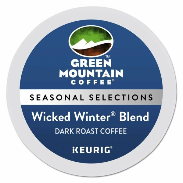 Green Mountain Coffee Wicked Winter Blend K Cup for Keurig Brewers 96 Count