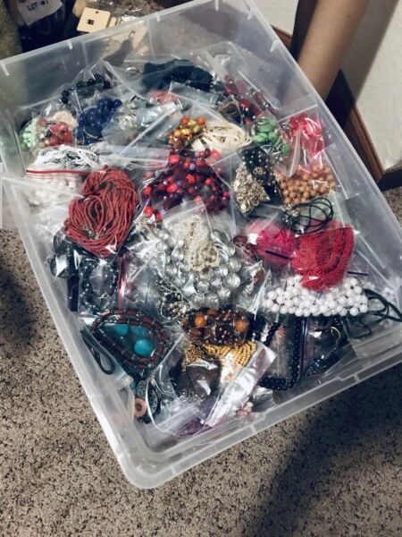 Huge 5 Pound Jewelry Lot Vintage To Now