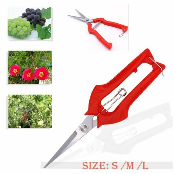 For Garden Pruning Fruit Tree Nursery Secateurs Scissor Clippers Cutting Tool