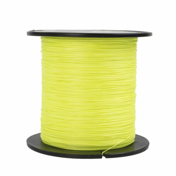 Hercules Power 10 300 lb Fluorescent Yellow PE Braided Fishing Line 300 1000m