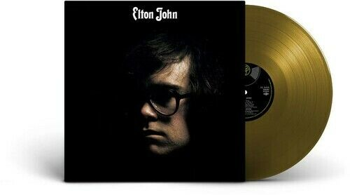 Elton John Elton John New Vinyl LP Colored Vinyl Gold Ltd Ed Anniversary