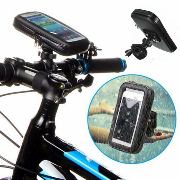 360° Bicycle Motor Bike Waterproof Phone Case Mount Holder For SAMSUNG Mobile GBP 6.99