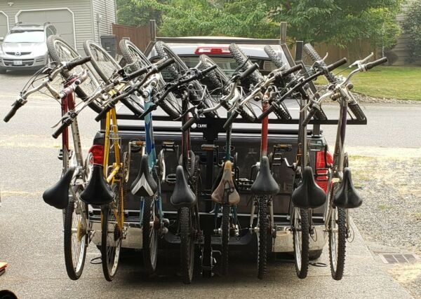 Cammeck Vertical 8 bike hitch rack carrier bicycle mountain like Recon Alta $1400.00