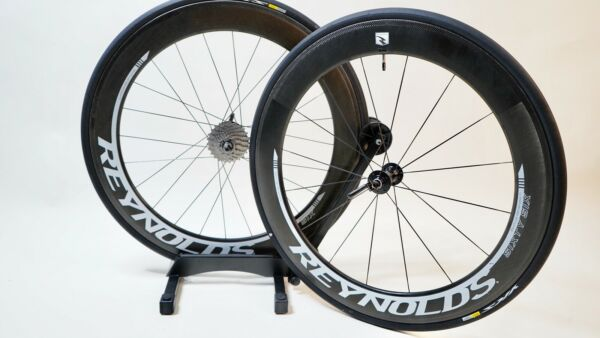 Reynolds carbon wheelset Clincher Sixty Six 66mm W Cycleops SL Power meter $1399.00