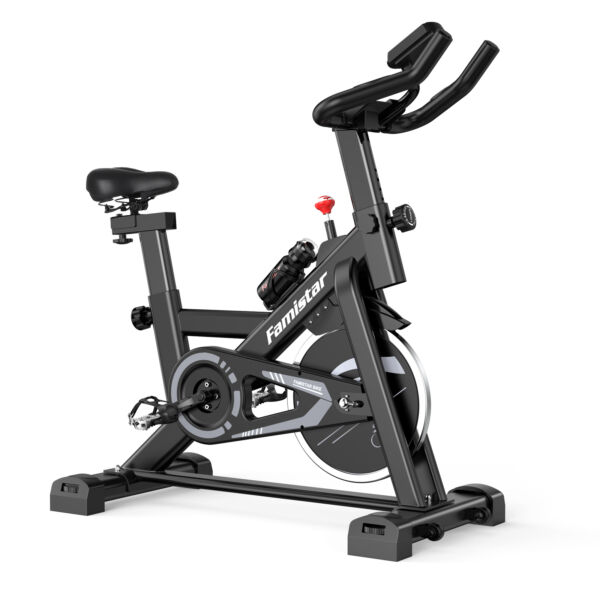 28.6Lbs Flywheel Exercise Bike Indoor Cycling Stationary Bike with LED Display $238.50