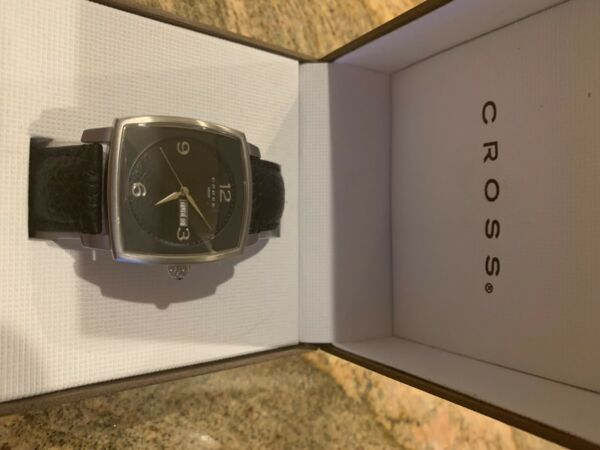 Cross men#x27;s square face new watch
