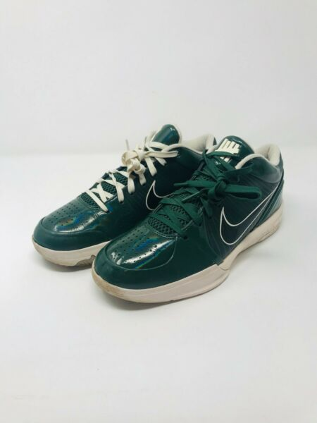 "Nike Zoom Kobe 4 IV Protro PE x Undefeated ""Milwaukee Bucks"" Size 8.5"