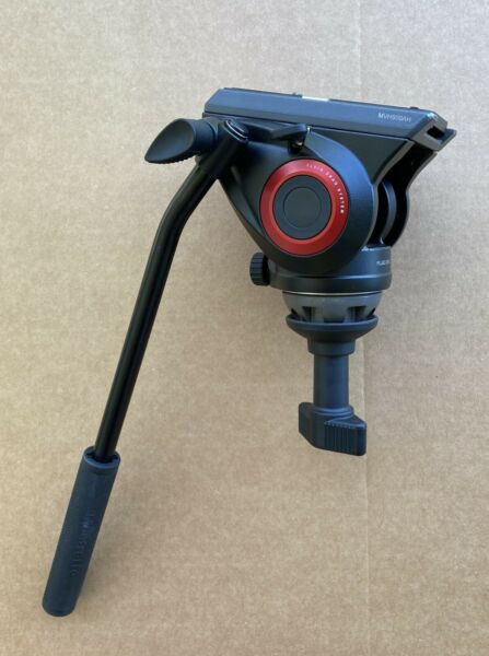 Manfrotto MVH500AH with 60mm Half Ball Installed