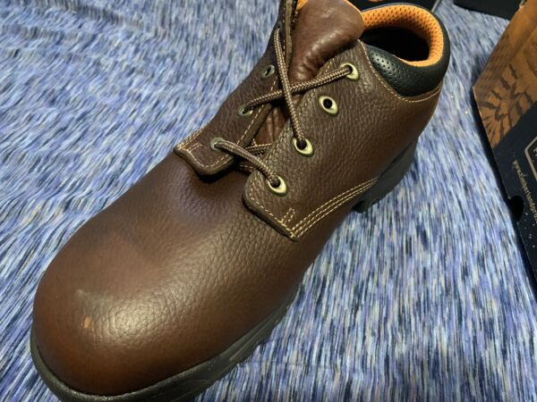 timberland boots men Size 11.5 steel Toe $65.00