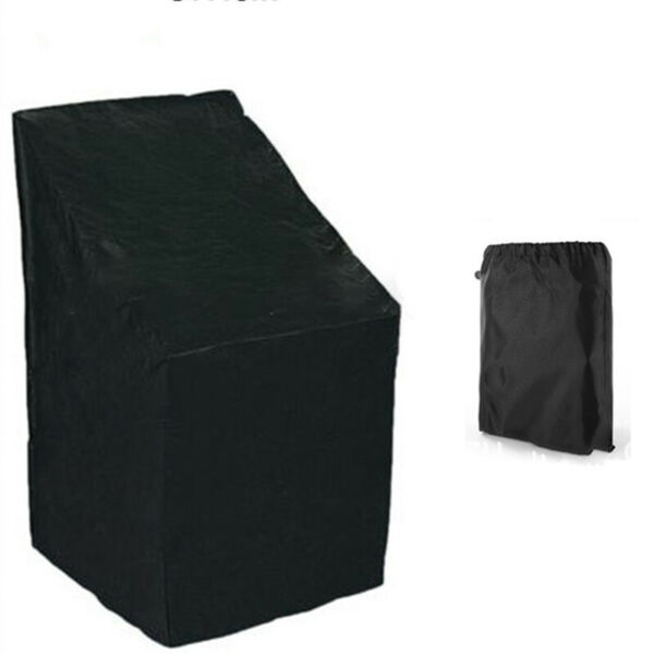 Outdoor Stacking Rattan Chair Cover For Furniture Waterproof Garden Dust proof C $18.97
