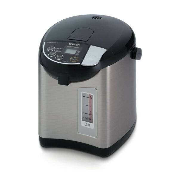 Tiger PDU A30U 3 Liter Electric Hot Water Boiler and Warmer Stainless Black $139.95