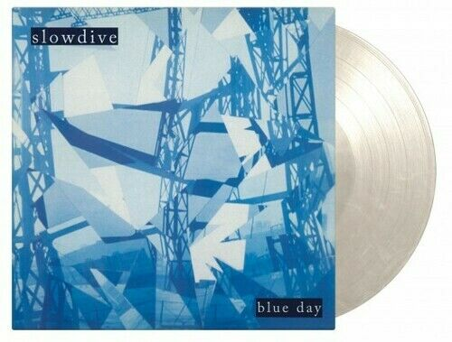 Slowdive Blue Day Limited 180 Gram White Marble Colored Vinyl New Vinyl LP